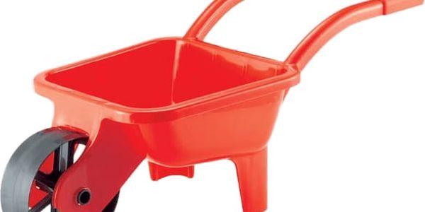 ECOIFFIER Zahradní kolečko plastové, zelené/červené - zahradní nářadí