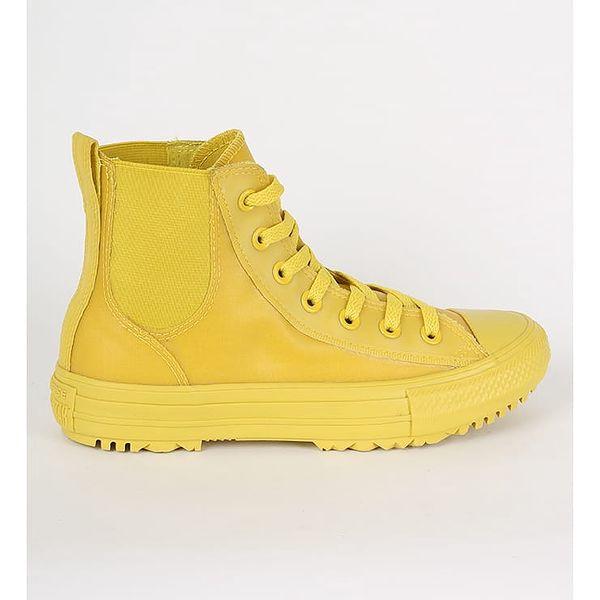Boty Converse Chuck Taylor All Star Chelsea Boot HI Žlutá