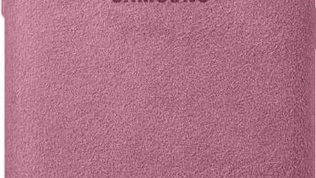 Samsung S8 Zadní kryt - kůže Alcantara, růžová - EF-XG950APEGWW
