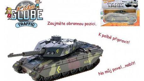 Tank česky mluvící na zpětné natažení 14 cm