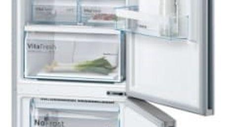 Kombinace chladničky s mrazničkou Bosch KGN39VL45 Inoxlook