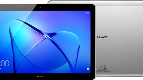 Huawei Mediapad T3 10 - 16GB, Wifi, šedá - TA-T310W16TOM