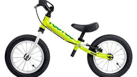 Odrážedlo Yedoo Too Too I zelené + Reflexní sada 2 SportTeam (pásek, přívěsek, samolepky) - zelené v hodnotě 58 Kč + Doprava zdarma