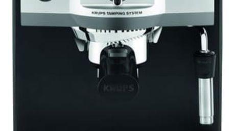 Espresso Krups XP562030 černé/nerez