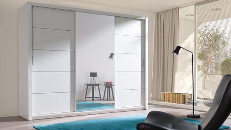 MEBLINE Luxusní šatní skříň s posuvnými dveřmi VISTA 250 - AKCE
