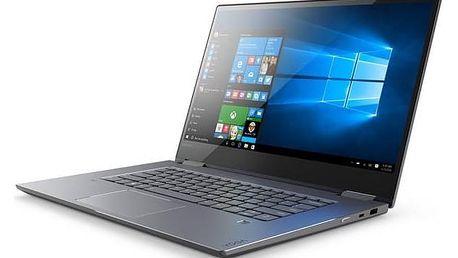 Notebook Lenovo YOGA 720-15IKB (80X70074CK) šedý Monitorovací software Pinya Guard - licence na 6 měsíců (zdarma)Software F-Secure SAFE 6 měsíců pro 3 zařízení (zdarma) + Doprava zdarma