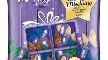 Milka směs čokoládových bonbonů 135g