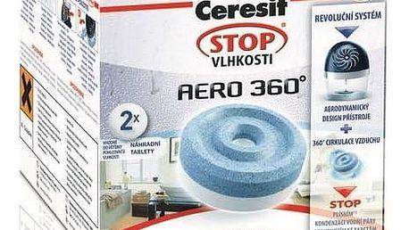 Náhradní tablety do pohlcovače vlhkosti Ceresit Stop vlhkosti AERO 360° 2v1