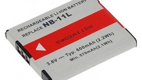 Baterie Avacom pro Canon NB-11L/NB-11LH Li-Ion 3.7V 600mAh (DICA-NB11-335)