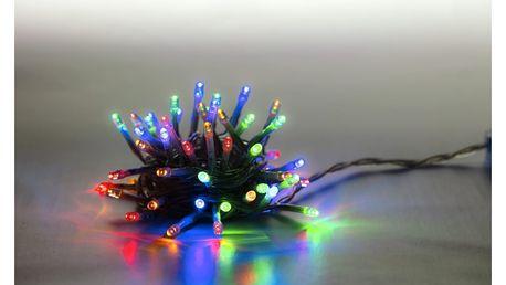 Marimex Řetěz světelný 100 LED - barevná - transparent - 18000066