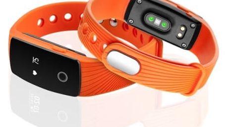 Fitness náramek GoGEN SB102O (SB102O) oranžový