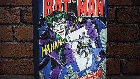 Svítící obraz Batman DC Comics