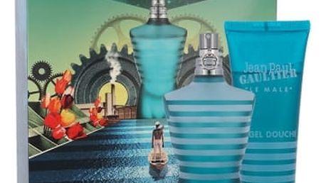 Jean Paul Gaultier Le Male dárková kazeta pro muže toaletní voda 125 ml + sprchový gel 75 ml