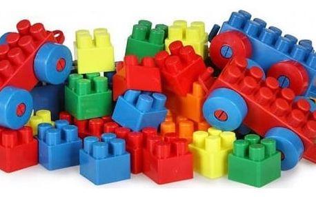 Kreativní velká dětská stavebnice 300 ks – mix barev
