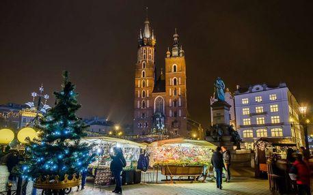 Adventní Krakow s prohlídkou města a UNESCO památky Wieliczka