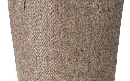 Home collection Prádelní koš s nápisem Wash It 33x50cm béžová