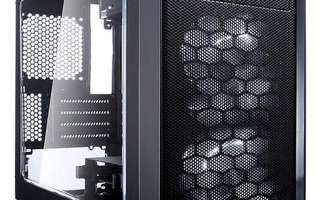 Fractal Design Focus G Mini, černá (okno) - FD-CA-FOCUS-MINI-BK-W