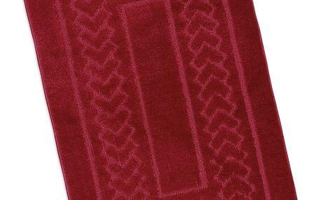Bellatex Koupelnová předložka Standard Červené bolzáno, 60 x 100 cm