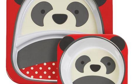 SKIP HOP Zoo Jídelní set - Panda