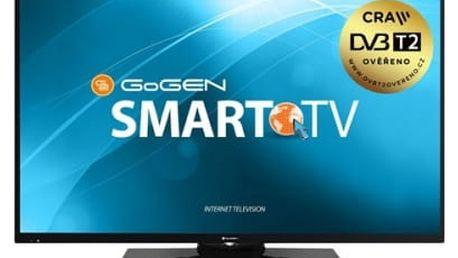 Televize GoGEN TVF 55N369 TWEB černá