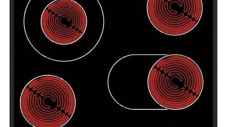 Sklokeramická varná deska Whirlpool AKT 8190/BA černá