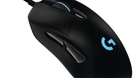 Myš Logitech G403 Prodigy (910-004824) černá / optická / 6 tlačítek / 12000dpi