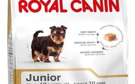 Granule Royal Canin Yorkshire Junior 7,5 kg + Doprava zdarma