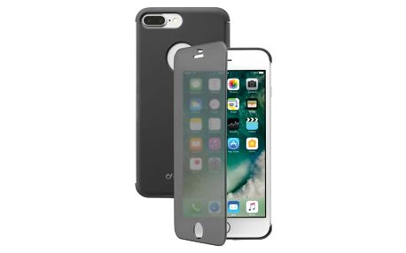 Pouzdro na mobil flipové CellularLine Touch pro Apple iPhone 8 Plus / 7 Plus (BOOKTOUCHIPH755K) černé