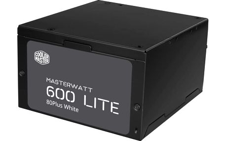 CoolerMaster MasterWatt Lite 230V - 600W - MPX-6001-ACABW-EU