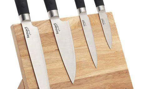 Sada nožů na magnetickém stojánku LT2026 Lamart 4 ks