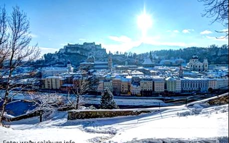 Komfortní zimní pobyt pro dva v Salzburgu. Dítě do 11 let zdarma