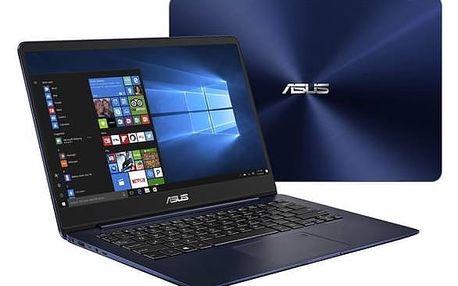 Notebook Asus Zenbook UX430UA-GV004T (UX430UA-GV004T) modrý Monitorovací software Pinya Guard - licence na 6 měsíců (zdarma)Software F-Secure SAFE 6 měsíců pro 3 zařízení (zdarma) + Doprava zdarma