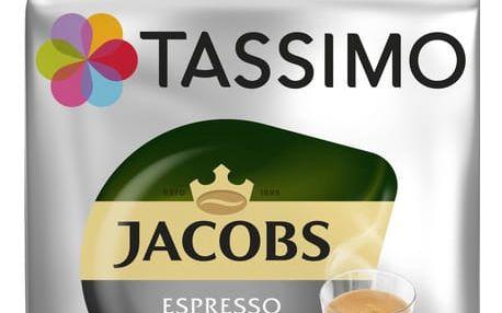 Kapsle Jacobs Espresso Ristretto 16ks pro Tassimo