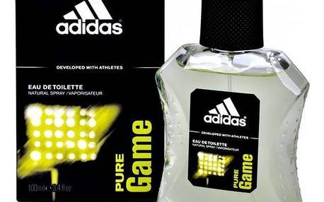 Adidas Pure Game toaletní voda pánská 100 ml
