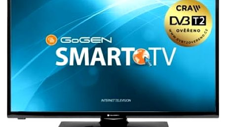 Televize GoGEN TVH 28N450 TWEB černá