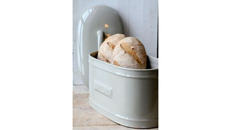 IB LAURSEN Porcelánový box Bread Latte, béžová barva, keramika
