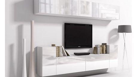 MEBLINE Elegantní obývací stěna ONYX 6A