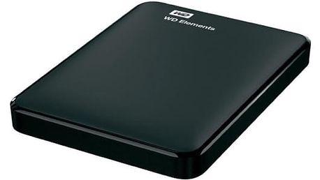 "Externí pevný disk 2,5"" Western Digital 750GB (WDBUZG7500ABK-WESN) černý"