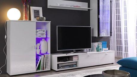 MEBLINE Elegantní obývací stěna LOCO 1