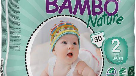 BAMBO Nature Mini (3-6kg) 30ks - jednorázové pleny