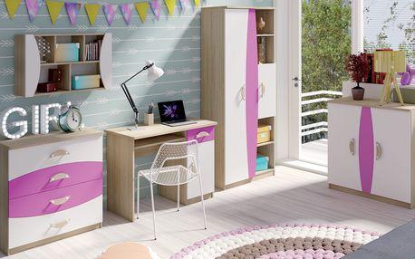 MEBLINE Levný nábytek do dětského pokoje TENUS II