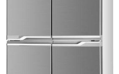 Kombinace chladničky s mrazničkou ETA 136190010 nerez + DOPRAVA ZDARMA