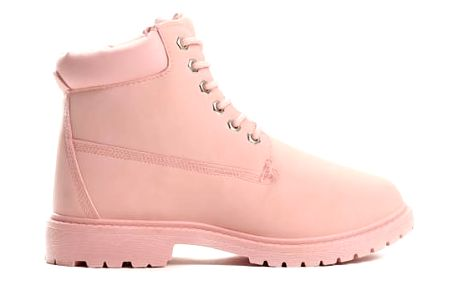 Dámské růžové kotníkové boty Petty 800