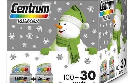 CENTRUM Silver s multi-efektem vánoční 100 + 30 tablet