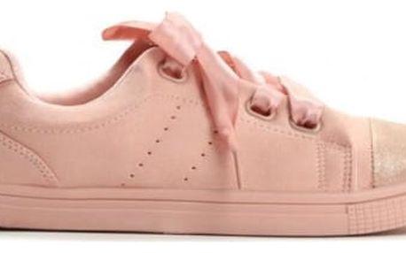Dámské růžové tenisky Etell 805