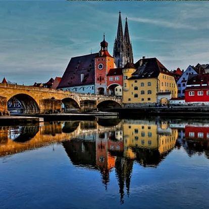 Jednodenní zájezd pro 1 osobu do Regensburgu za památkami a nejkrásnějšími adventními trhy.