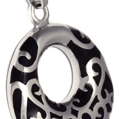 Přívěsek kruh zdobený ornamenty