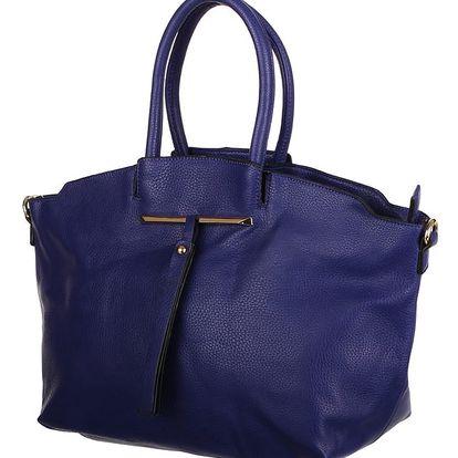 Velice módní dámská kabelka modrá