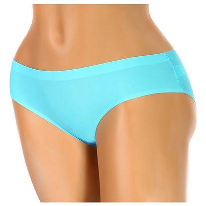 Kalhotky z mikrovlákna - klasický střih modrá