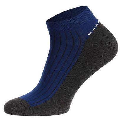 Pánské kotníkové ponožky modrá